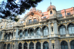 Centrali de Barcelona Portowy budynek, Hiszpania Zdjęcia Stock