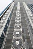 Centrali lotniczy conditioners obrazy royalty free