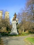 Centrali parkowa statua Zdjęcie Stock