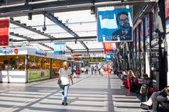 Centrali stacja w Malmö Obrazy Stock