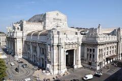 Centrali stacja w Mediolan, Włochy Fotografia Royalty Free