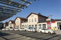 Centrali stacja w Siegen, Niemcy Obrazy Stock