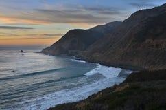Centrali Wybrzeże, Duży Sur Obraz Royalty Free