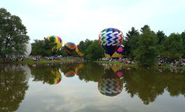 Centralia Illinois Balloon Festival Royalty Free Stock Image
