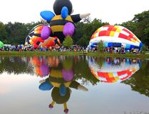Centralia Illinois Balloon Festival Stock Photography