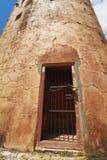 Den Jaigarh Fortklockan står hög Arkivfoto
