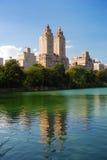 centralne miasto Manhattan nowy parkowy York Fotografia Stock