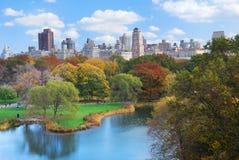 centralne miasto Manhattan nowy parkowy York Zdjęcia Royalty Free