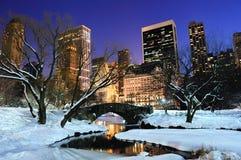 centralne miasto Manhattan nowy parkowy York Zdjęcia Stock