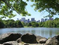 centralne miasto nowy York park Zdjęcia Stock