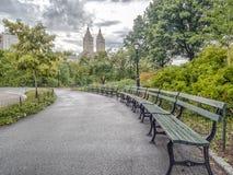 centralne miasto nowy York park zdjęcie royalty free