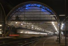 Centralstation av Amsterdam royaltyfri bild