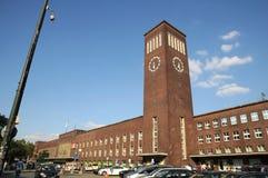 Centralstation - Düsseldorf Arkivbilder