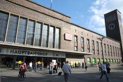 Centralstation - Düsseldorf Royaltyfria Bilder