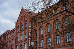 Centralstation i Malmo Arkivbild