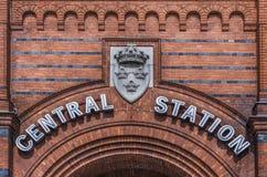 Centralstation Malmo Arkivfoto