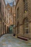 Centralt arkiv Manchester arkivfoto