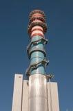 centralt elektriskt generatortorn Arkivfoton