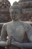 centralt indonesia java för borobudur tempel Arkivbild
