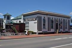 Centralt museum för Hawkes fjärdnybyggare - Nya Zeeland Arkivbild