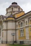 Centralt offentligt mineraliskt badhus i Sofia, Bulgarien royaltyfri foto