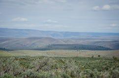 Centralt Oregon landskap Royaltyfri Fotografi
