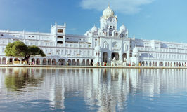 Centralt sikh- museum i guld- tempel, i Amritsar Royaltyfria Foton