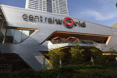 CentralWorld het winkelen plein en complex in Bangkok Royalty-vrije Stock Foto