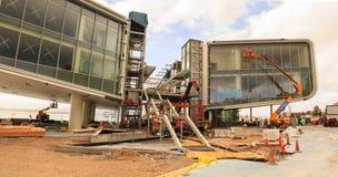 Centre of Arts under construction, Santander Royalty Free Stock Photos