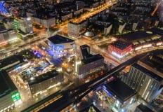 Centre Berliński Niemcy w górę widoku Zdjęcia Stock