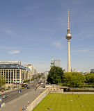 Centre of berlin Stock Photography