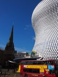 Centre Birmingham, Anglia Obraz Royalty Free