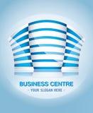 Centre biznesowy logo ilustracji