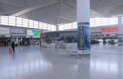 Centre central d'accès de transport en commun d'aéroport international du Japon Photo stock