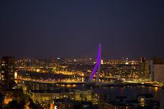 centre city erasmus Στοκ φωτογραφία με δικαίωμα ελεύθερης χρήσης