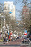 Centre of the city Rotterdam, Netherlands Royalty Free Stock Images
