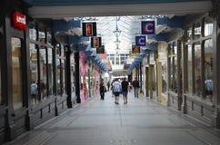 Centre commercial à Leeds Photos stock