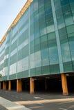 Centre commercial avec le parking Photos libres de droits