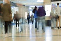 Centre commercial brouillé par résumé pour le fond Photos libres de droits