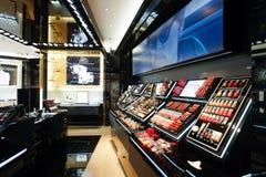 Centre commercial d'éléments Photographie stock