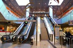 Centre commercial d'éléments, Hong Kong Images libres de droits