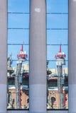 Centre commercial d'arènes, Barcelone Image libre de droits