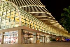 Centre commercial dans la ville de Singapour Photographie stock libre de droits