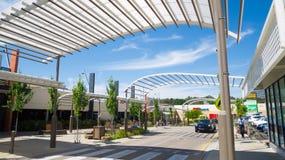 Centre commercial de Barker de bâti dans l'Australie du sud photos libres de droits