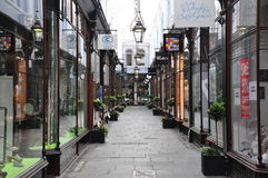 Centre commercial de Cardiff photo libre de droits