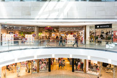 Centre commercial de Debrecen de forum Photos stock