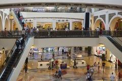 Centre commercial de Dubaï Images libres de droits