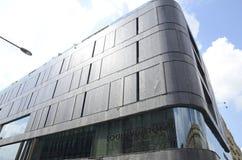 Centre commercial de façade à Varsovie photo stock