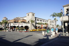 Centre commercial de Huntington Beach Photographie stock