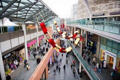 Centre commercial de John Lewis à Liverpool Image libre de droits
